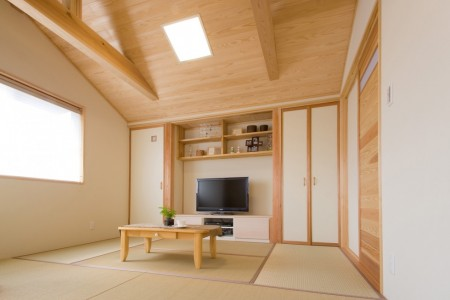 寝室と畳の間