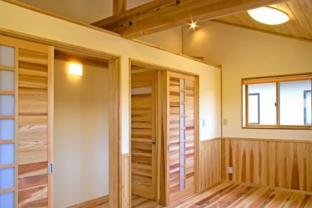 2階の子供室です。将来間仕切ることも可能です。
