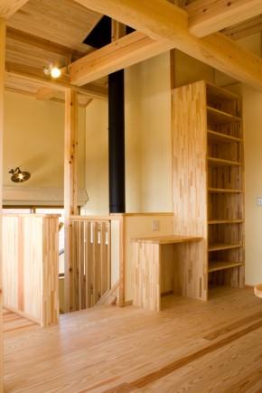 2F共有スペースの造り付け家具
